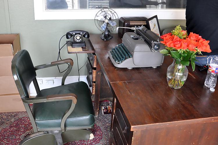Sun Studio, Marion Keisker's desk