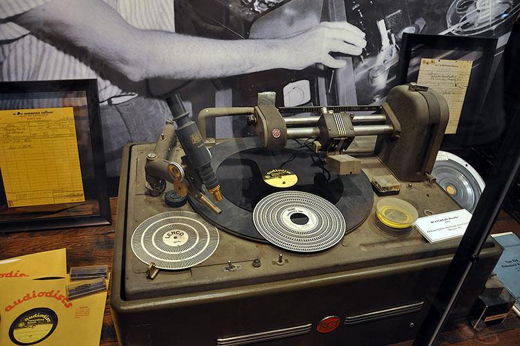 Sun Studio, RCA 73-B Lathe Recorder