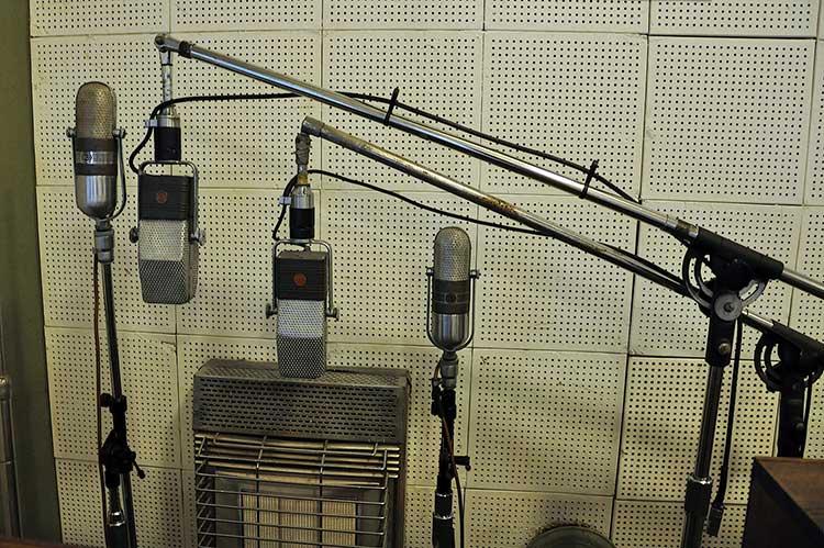Sun Studio, microphones