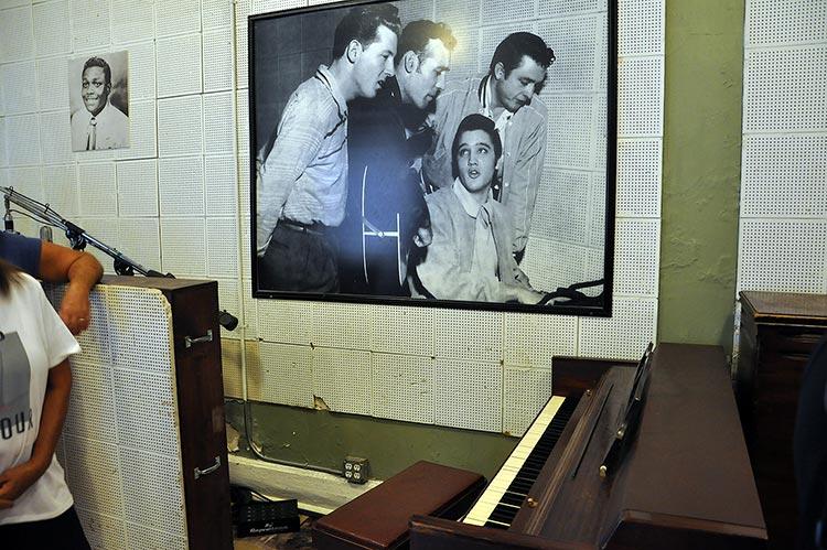 Sun Studio, million dollar quartet