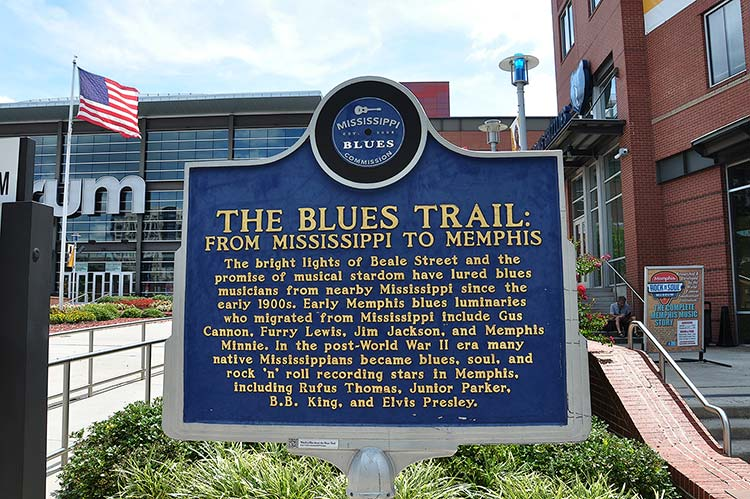 The Blues Trial marker