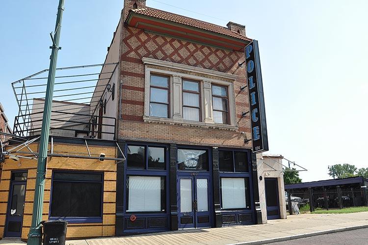 Monarch Club's former site, Memphis, Tn