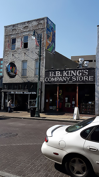 Record shop, Beale Street