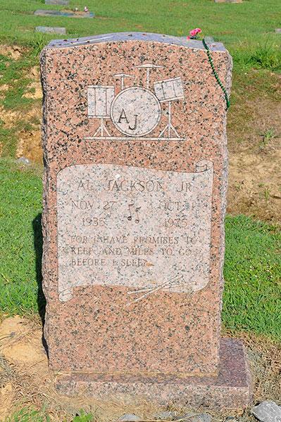 Al Jackson grave