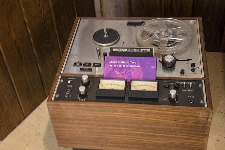 American Studio Teac reel to reel tape machine