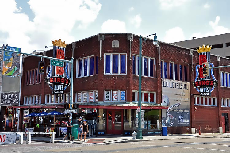 B.B. King's Blues Club, Memphis, Tennessee