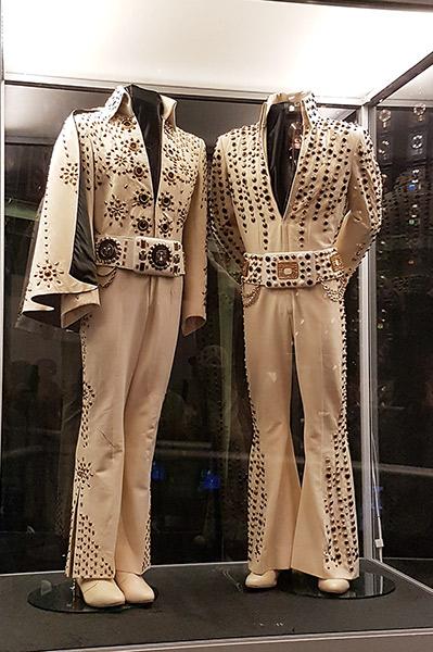 Elvis Presley's jumpsuits, Racquetball Building, Graceland, Memphis, Tn