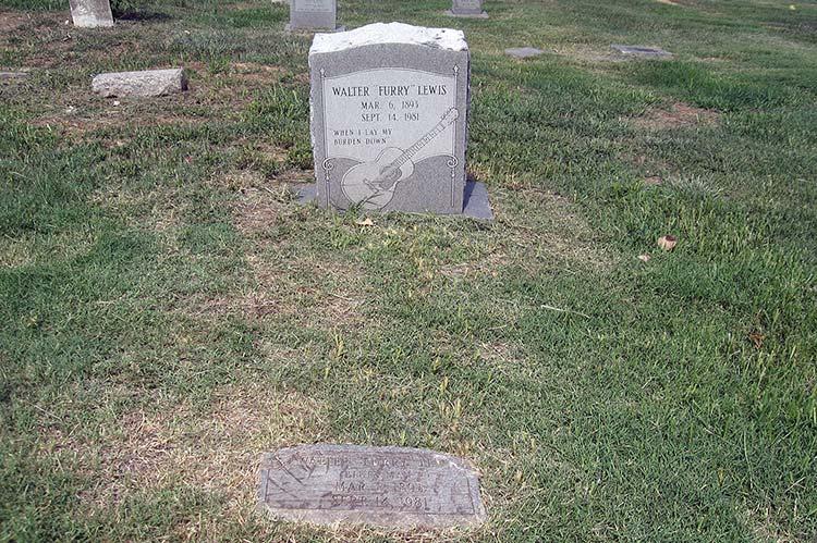 Furry Lewis's grave