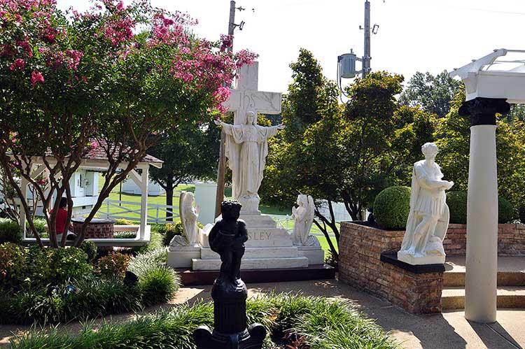 Graceland, Meditation Garden