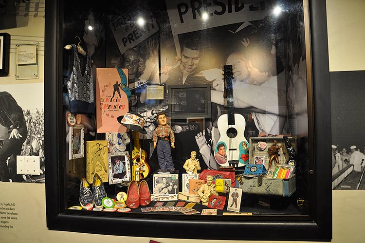 Memorabilia, Trophy Building, Elvis Presley's Graceland mansion in Memphis
