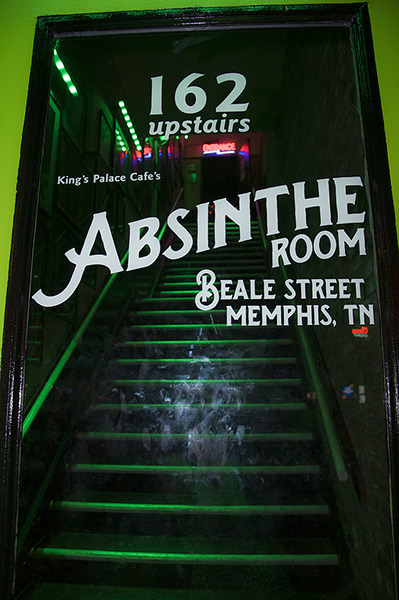 King's Palace Cafe's Absinthe Room, Memphis, Tennessee