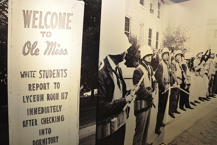 U.S. Marshals at Ole Miss, National Civil Rights Museum, Memphis, Tennessee