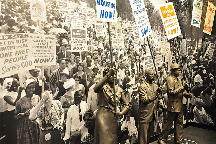 Washington march, National Civil Rights Museum