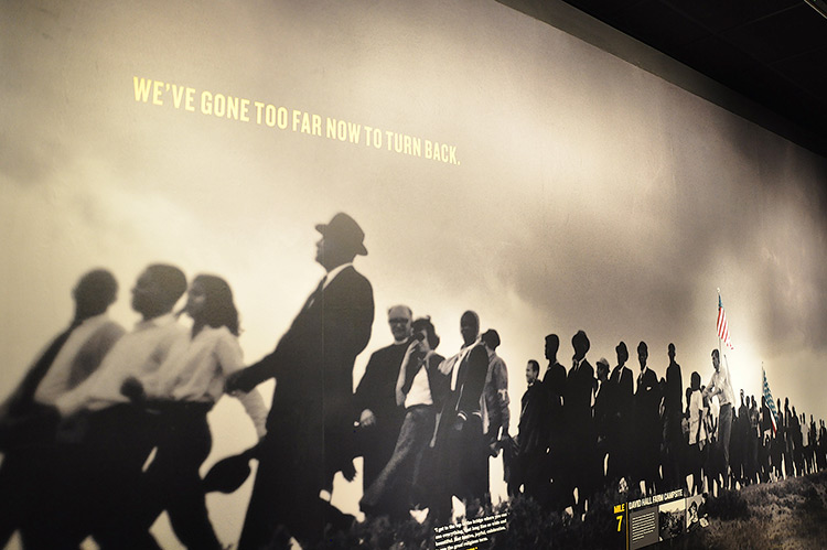 Selma-Montgomery marches, National Civil Rights Museum