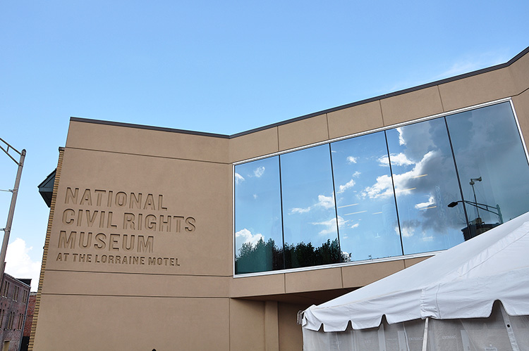 National Civil Rights Museum at the Lorraine Motel, Memphis, Tennessee