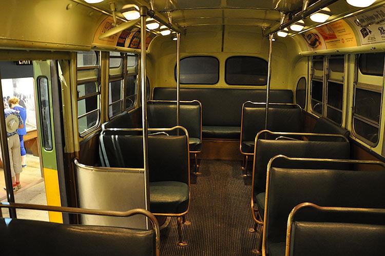 Rosa Parks, bus