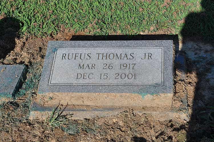 Rufus Thomas grave