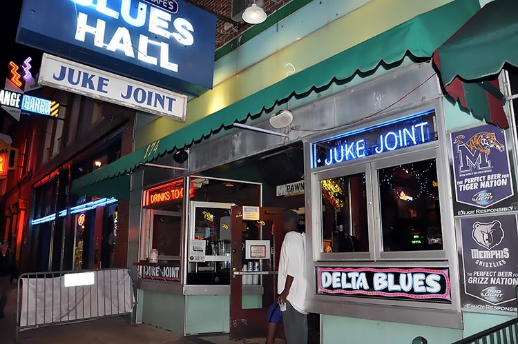 Rum Boogie Cafe's Blues Hall, Memphis, Tennessee