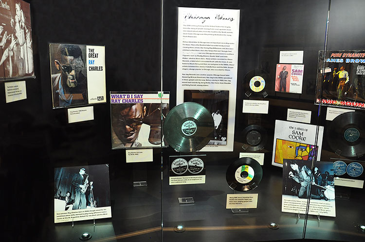Forerunners of southern soul at Stax Museum, Memphis, Tennessee