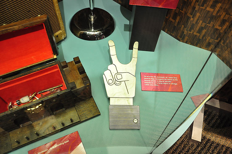 Stax Museum, Al Jackson's bootjack