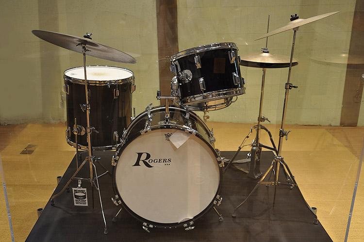 Stax Museum, Al Jackson's drums