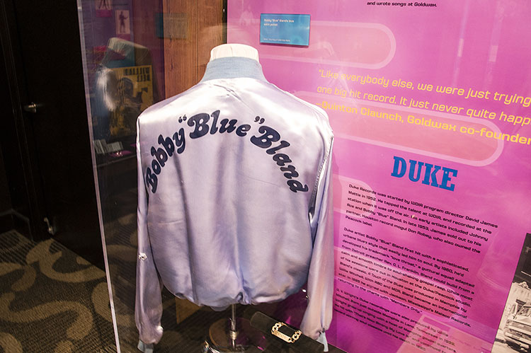 Bobby Bland's jacket, Stax Museum