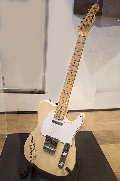 Steve Cropper's Telecaster, Stax Museum