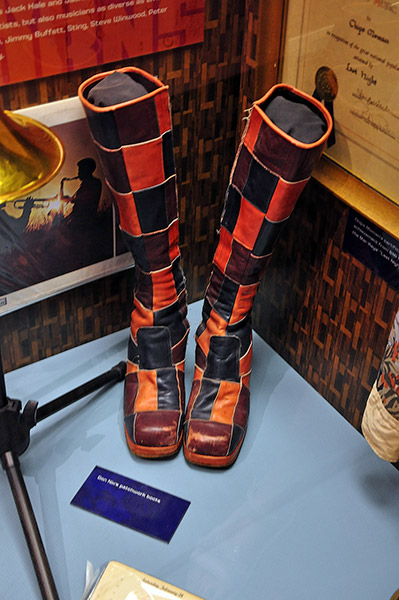 Stax Museum, Don Nix's boots