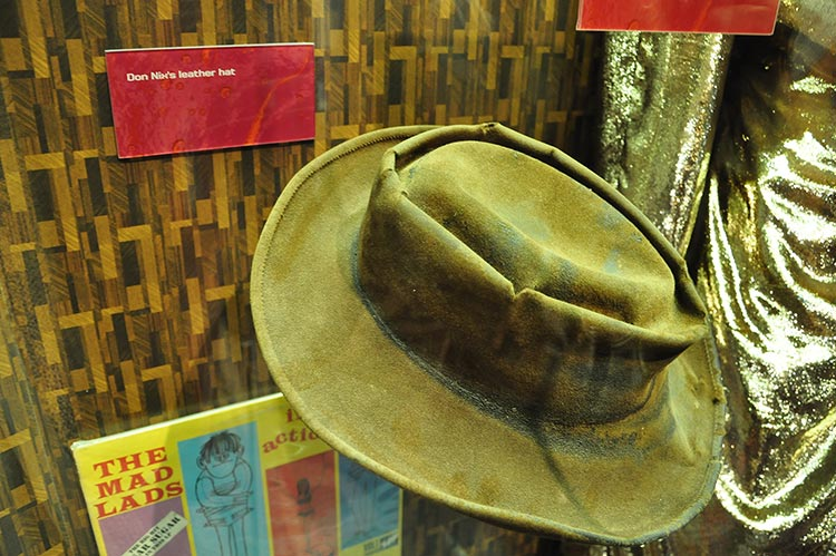 Don Nix's hat, Stax Museum