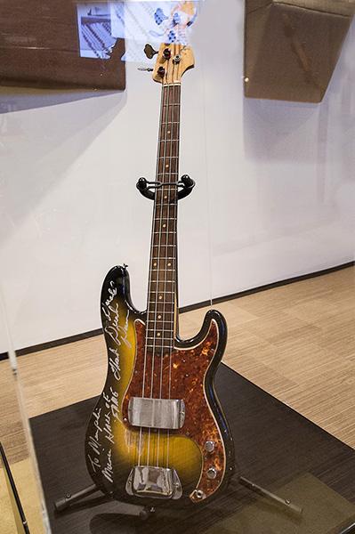 Duck Dunn's Fender Precision, Stax Museum