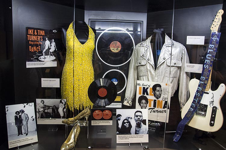 Ike & Tina Turner stuff at Stax Museum, Memphis, Tennessee