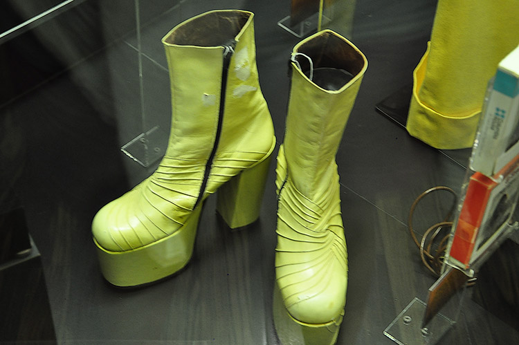 Isaac Hayes' boots