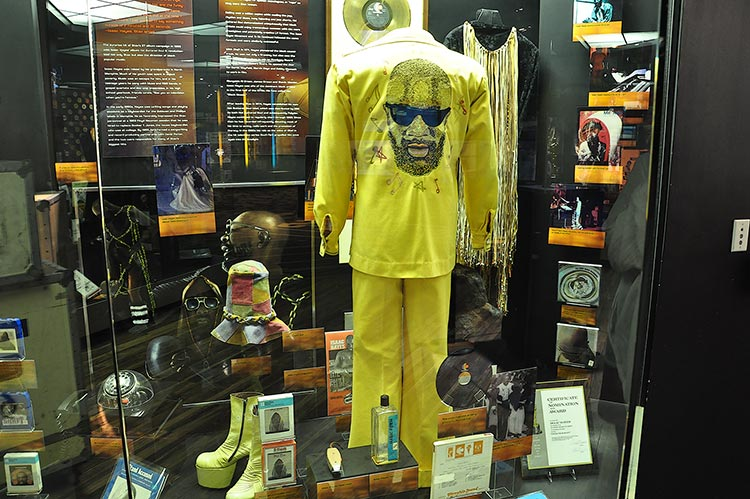 Isaac Hayes, Stax Museum