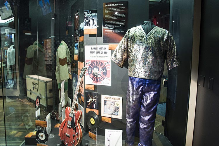 Little Milton's stuff, Stax Museum