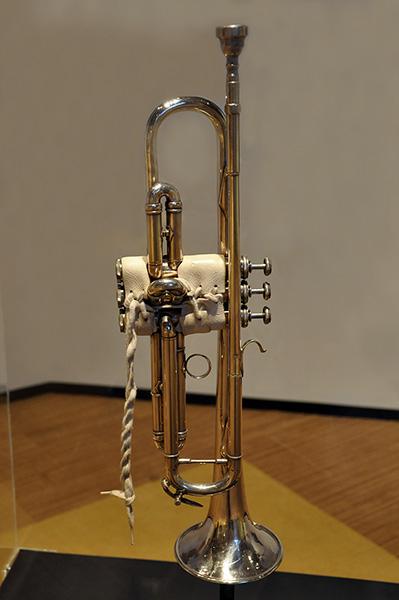 Wayne Jackson's trumpet, Stax Museum