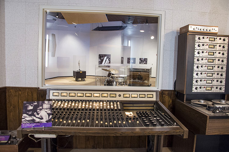 Stax control room, Stax Museum