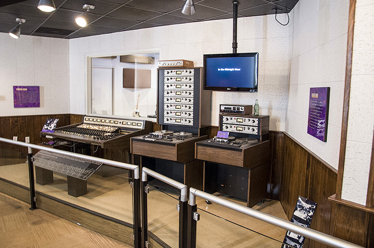 Stax Museum, control room