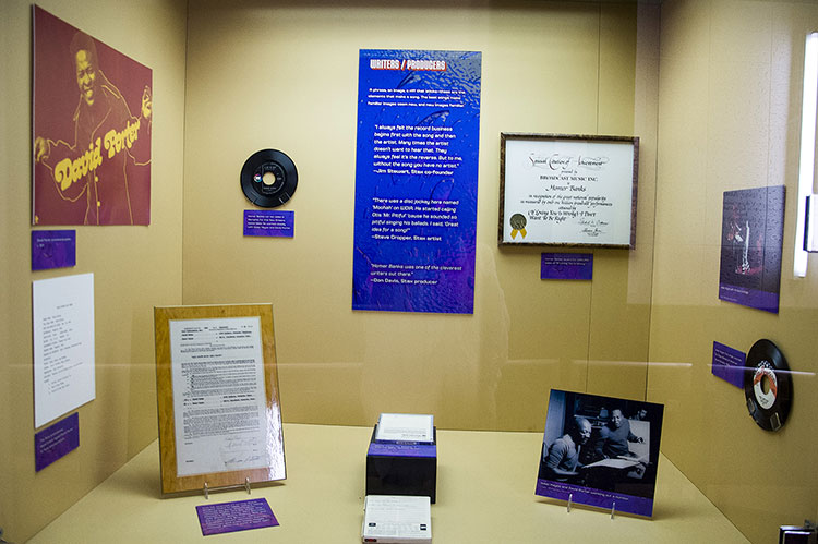 Writers-producers, Stax Museum