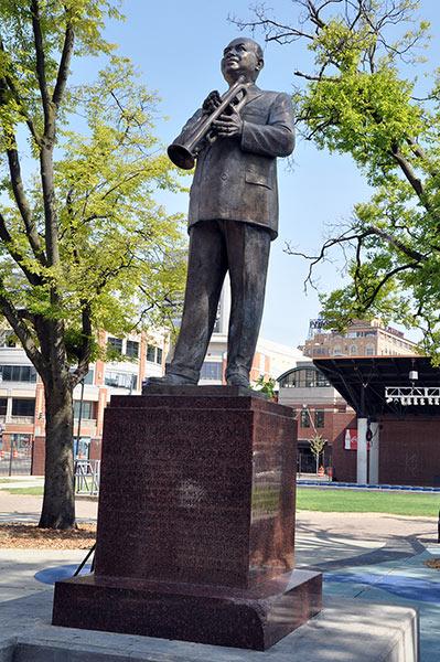 W.C. Handy's statue, Memphis