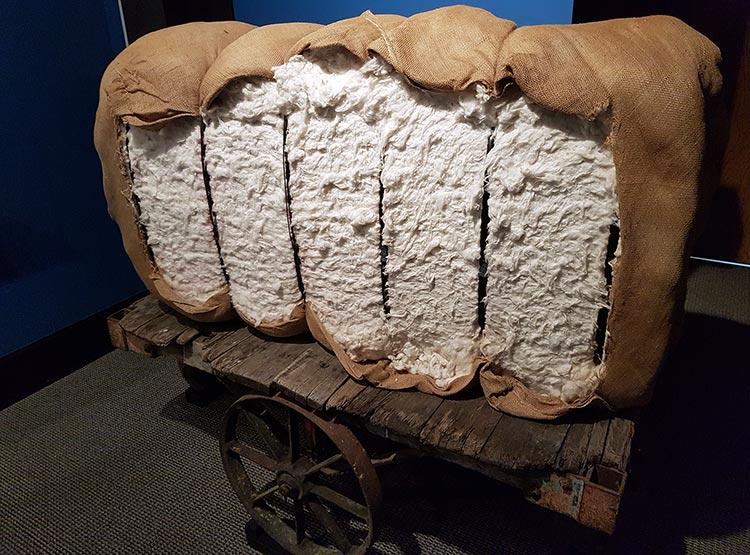 Cotton bale, Delta Cultural Center, Helena, Arkansas