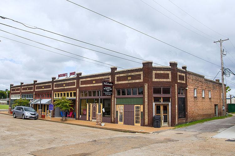 Biscuit Row, Helena, Arkansas
