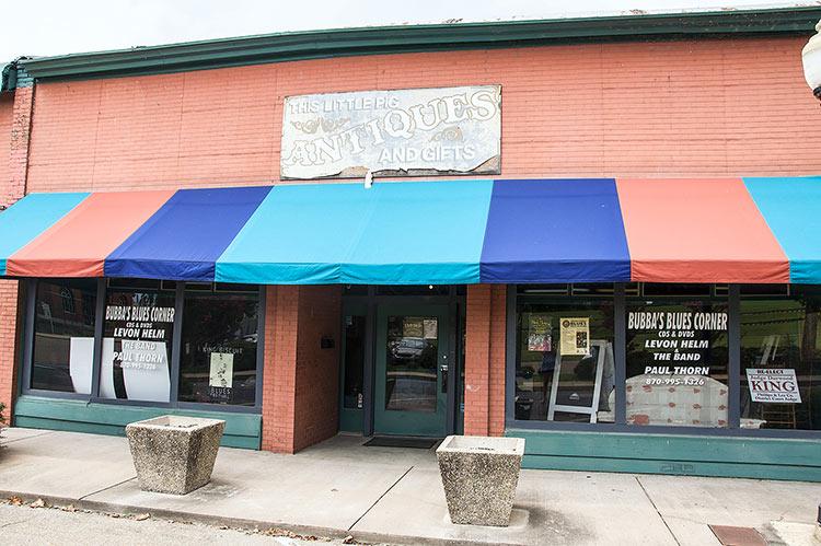Bubba's Blues Corner, Helena, Arkansas