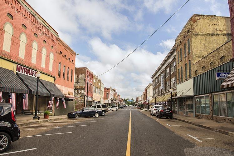 Cherry Street, Helena, Arkansas