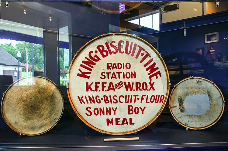 Peck Curtis' drums