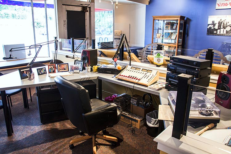 Sonny Payne's workstation, Delta Cultural Center