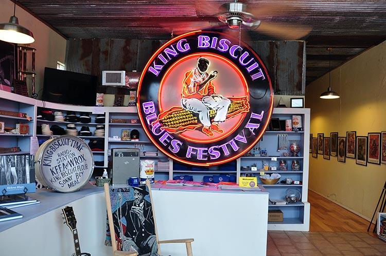 King Biscuit Festival office