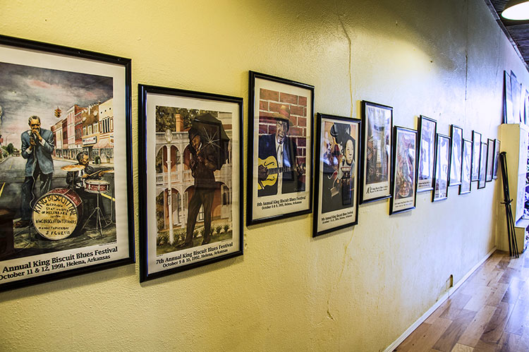 King Biscuit Blues Festival posters, King Biscuit Festival office