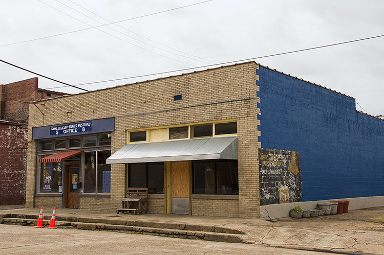 King Biscuit Festival office, Helena, Arkansas