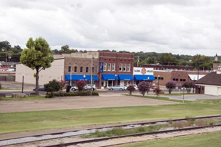 Levee Walk, Helena, Arkansas
