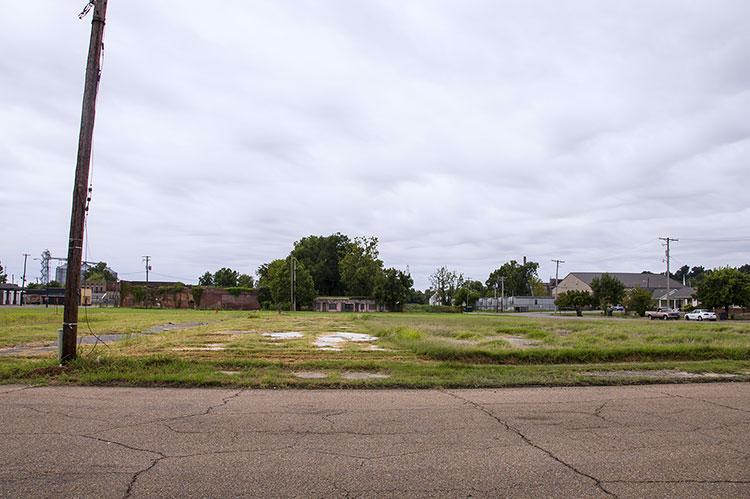 Sonny Boy Williamson's former site, Helena, Arkansas